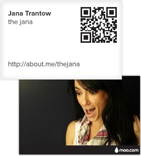 Free personal business cards w/About.me profile.