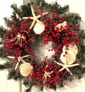 Google Image Result for http://4.bp.blogspot.com/-X_-sJSVHZUg/TuBBXqUne2I/AAAAAAAAeb0/EiGyxZqK6UA/s400/coastal-outdoor-wreath.jpg: