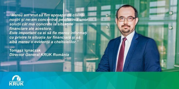 Economica.net despre noua aplicatie creata de KRUK Romania: http://www.economica.net/kruk-romania-a-lansat-o-aplicatie-de-mobil-care-ajuta-utilizatorii-sa-tina-evidenta-clara-a-cheltuielilor_127659.html