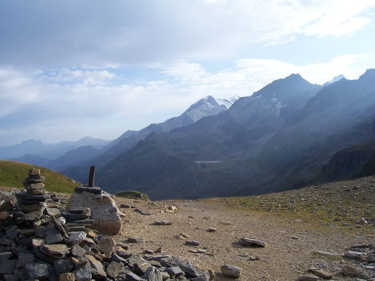 Col du Bonhomme (Tour du Mont Blanc, France Alps)