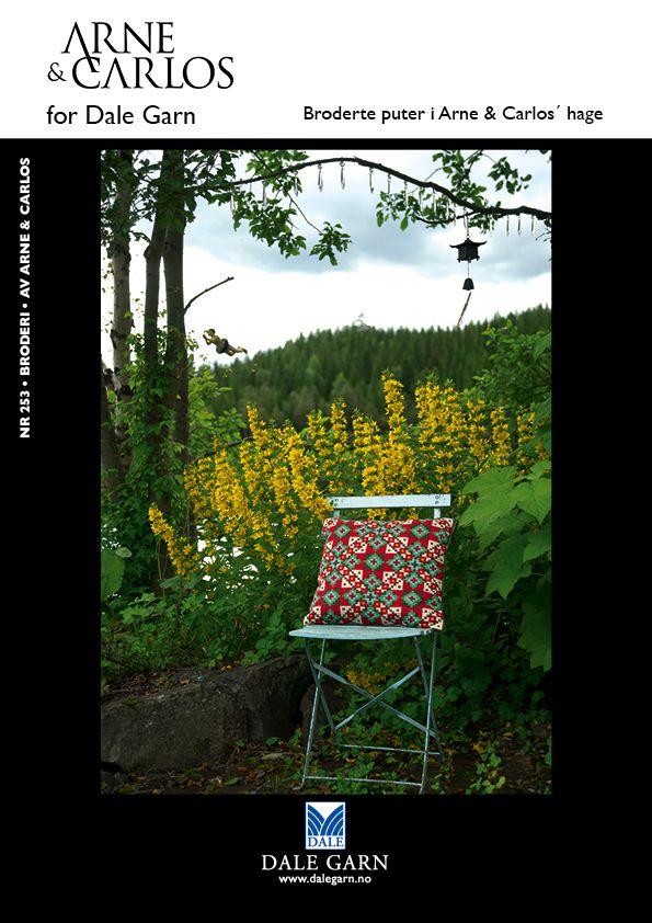 #DaleGarn Free Download Patterns DG253 DIY embroidery #ArneOgCarlos
