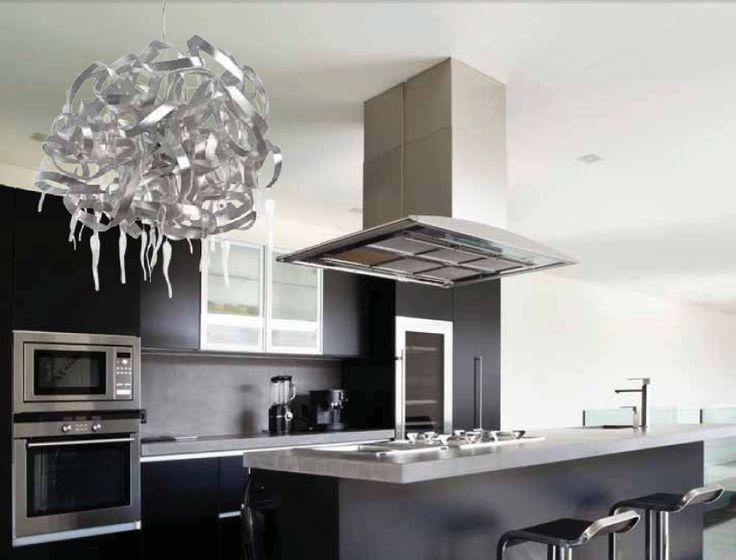 resultado de imagen para iluminacion moderna para cocinas cocinas pinterest search