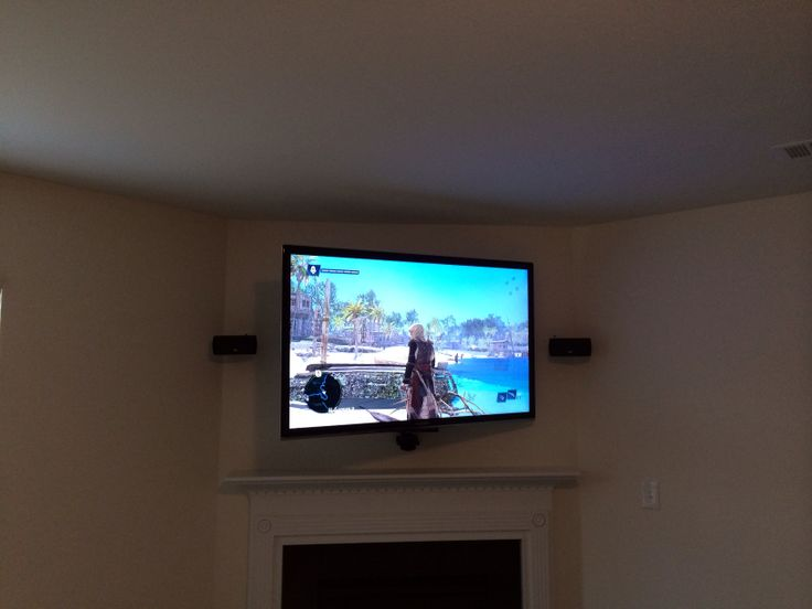 60 Inch Samsung Smart Tv Full Motion Wall Mount Over