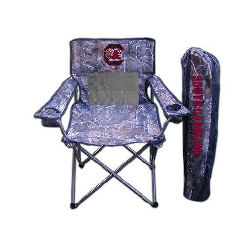 "South Carolina Gamecocks NCAA Ultimate Real Tree"" Camo Adult Tailgate Chair"""