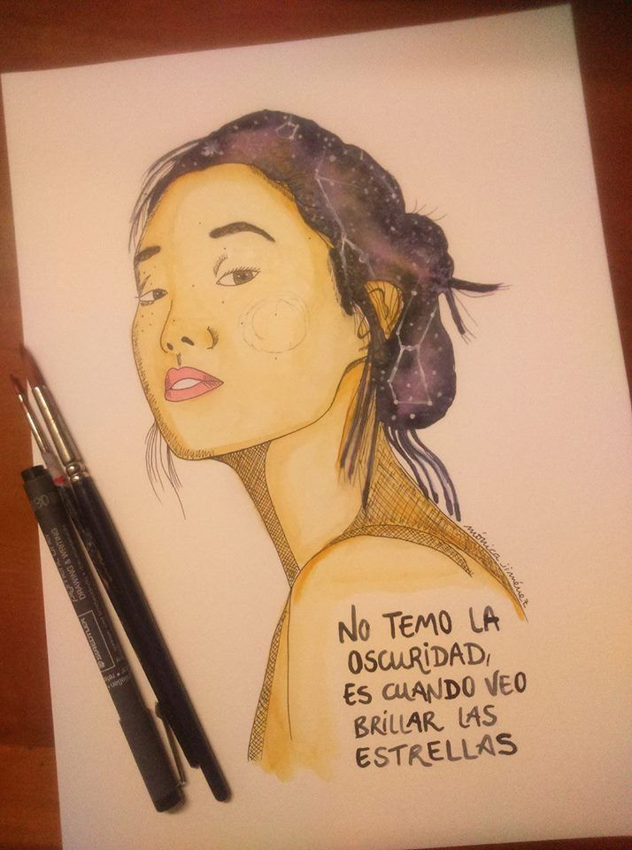 Ilustración Acuarela Mónica Jiménez