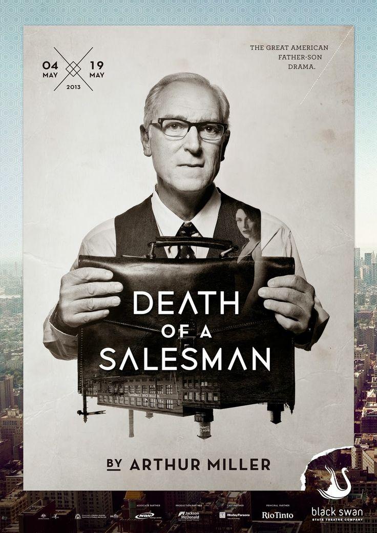 a description of the death of salesman by miller Drama arthur miller (teleplay), arthur miller (play)  death of a salesman ( 1985) dustin hoffman, arthur miller, and volker schlöndorff in death of a  salesman (1985.