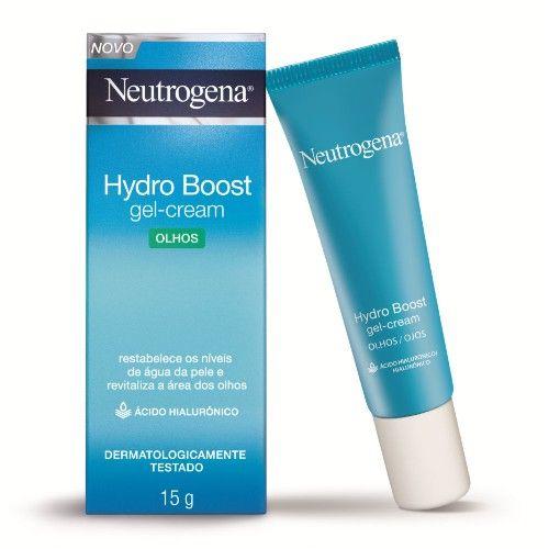 Gel Creme Hidratante Olhos Neutrogena Hydro Boost 15g é a mais inovadora fórmula de Neutrogena para uma renovação intensa da pele. Hydro Boost é formulado com ácido hialurônico e glicerina, que ajudam a restabelecer a umidade da pele, renovando e fortalecendo a área dos olhos. Proporcionando 48h de hidratação, o resultado é uma pele mais bonita, com aspecto saudável a cada dia. Oftalmologicamente testado e sem fragrância, pode ser usado diariamente. Indicado para todos os tipos de pele.