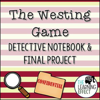 The Westing Game Detective Notebook & Final Project