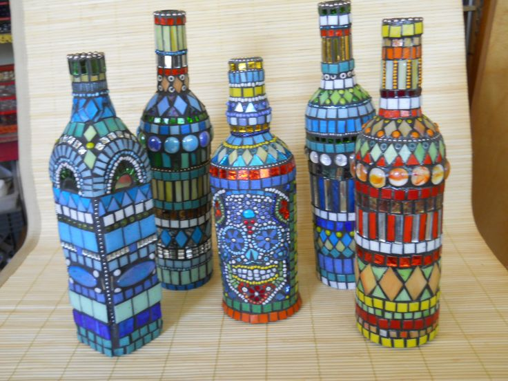 mosaic bottles                                                                                                                                                                                 More