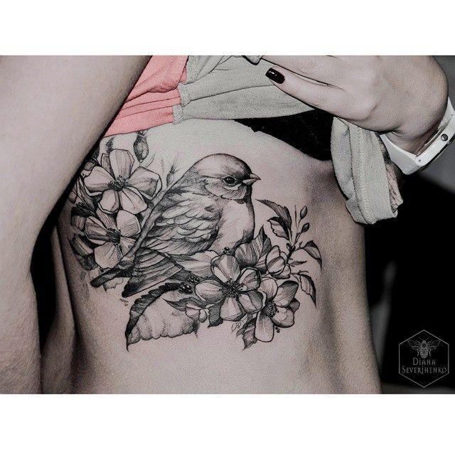 Diana Severinenko dianaseverinenko #bird #birdtattoo ... Instagram foto | Websta (Webstagram)