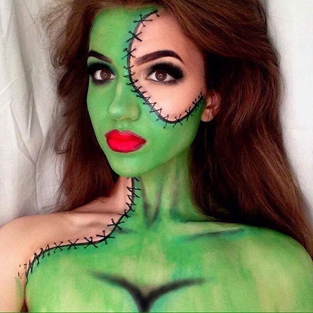 throwback to my bride of frankenstein makeup re creation of ellimacssfx - Halloween My Picture