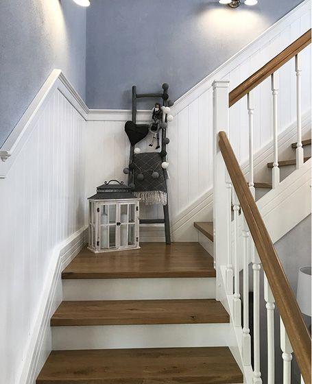 Beadboard.de Holzverkleidung für die Treppe – Sel…