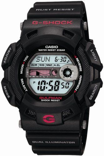 CASIO watches gshock GULFMAN DUAL ILLUMINATOR G91001JF ** Click image to review more details.