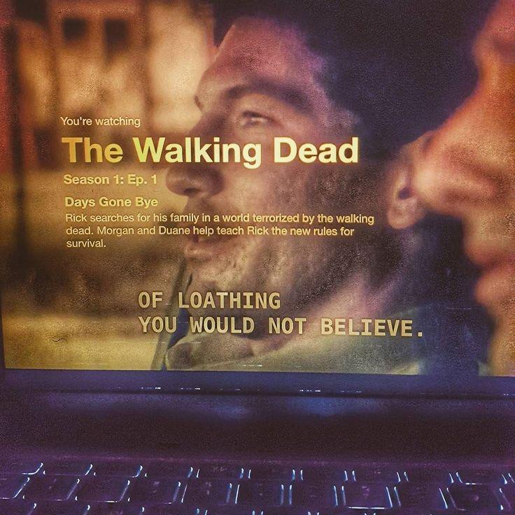 Started watching a brand new series #TheWalkingDead on #Netflix after #13ReasonsWhy. #netflixandchill. #FuckingColdOutside #fourdegreesoutside