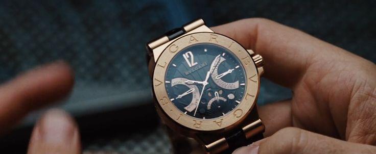 Iron Man Diagono Retrograde Moonphase Bulgari watch #RobertDowneyJr. #TonyStark #Marvel #Watch #ProductPlacement