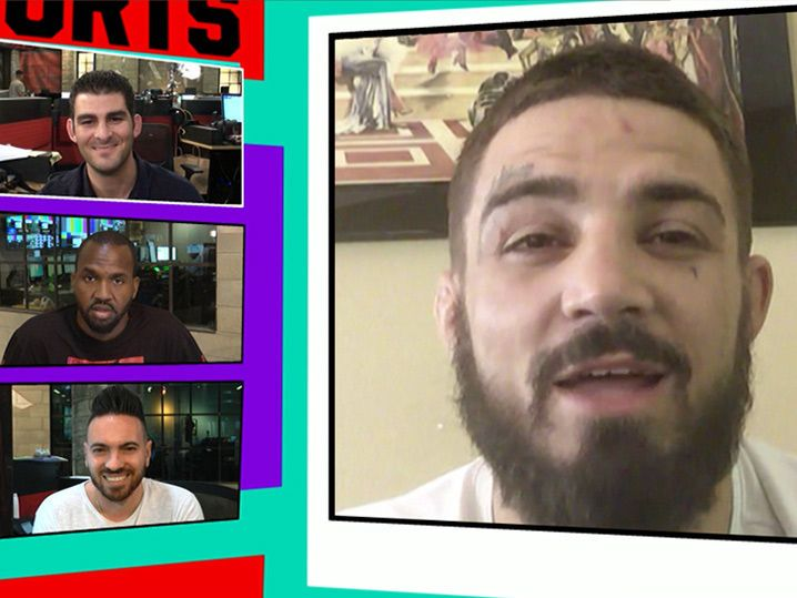 UFC's 'Platinum' Mike Perry Says He May Have Ended Jake Ellenberger's Career (VIDEO)
