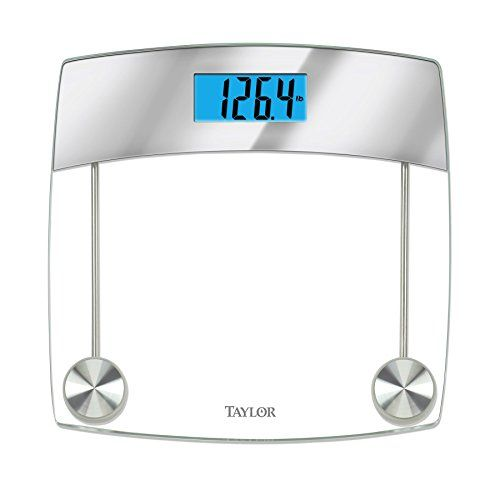 bathroom scale dcor taylor precision products glass digital bath scale clear you can