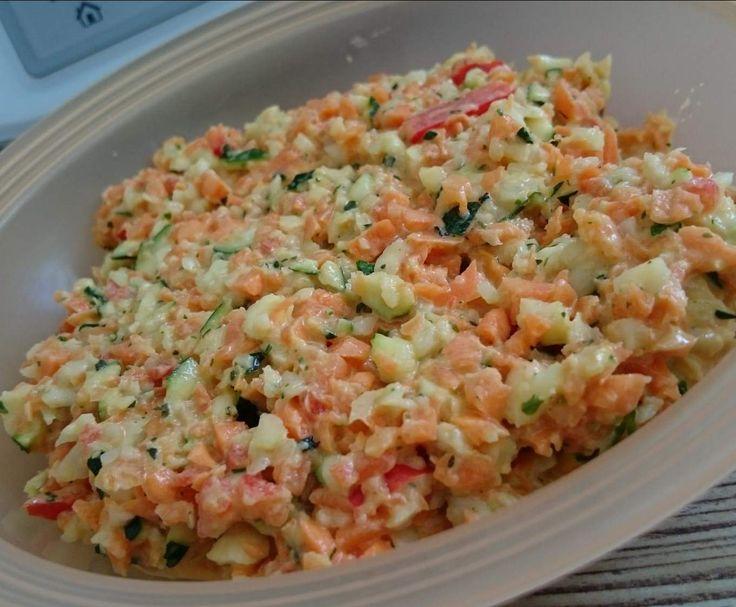 Muss ich ausprobieren: Rohkost Kohlrabi Karotte Zucchini Paprika