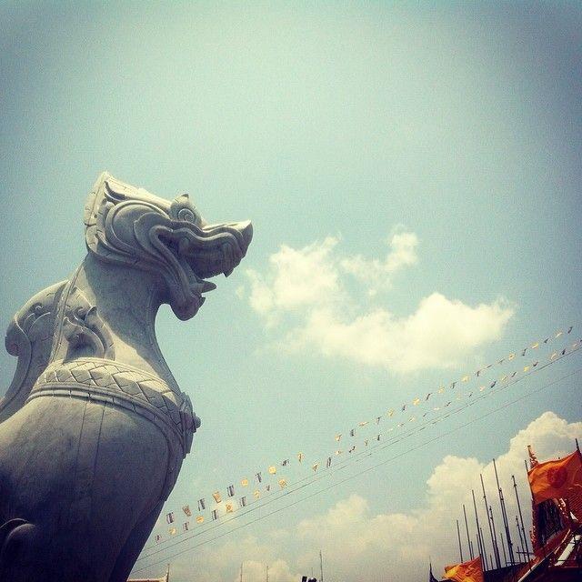 Dragon's breath.