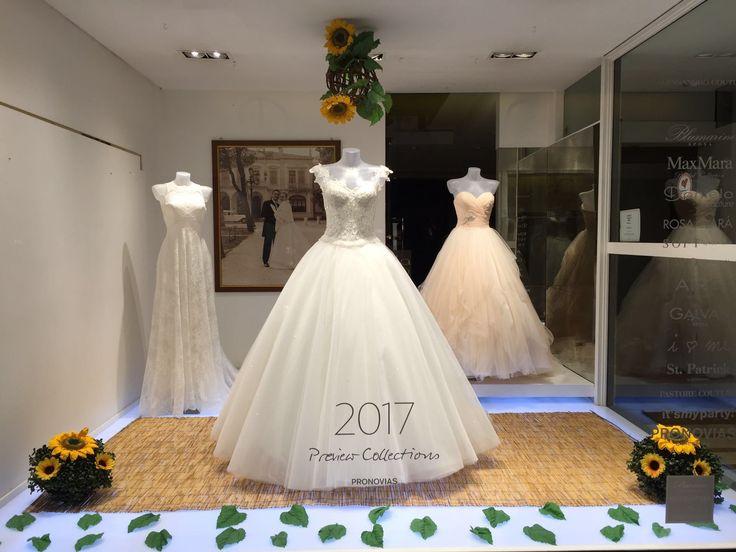 La nostra ultima #vetrina! #summer #weddingdress #sposa #danielasposa #mirano www.danielasposa.it