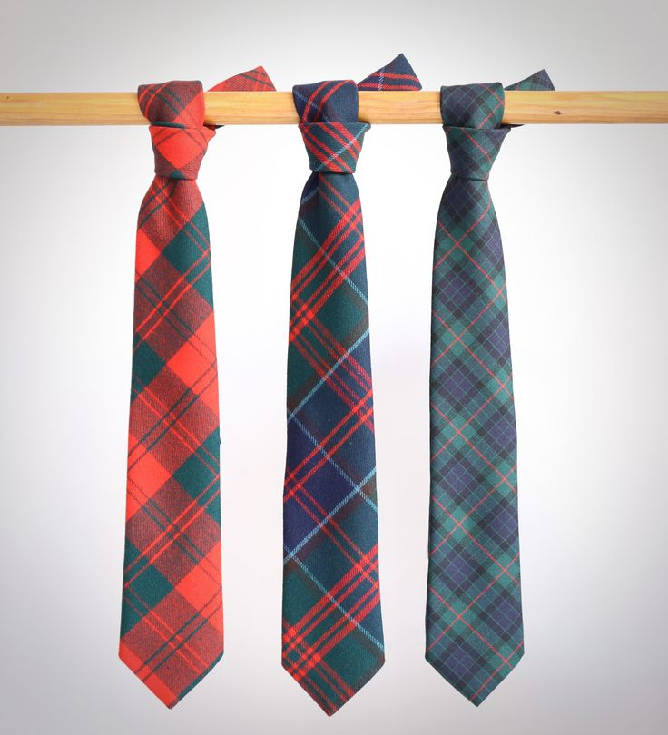 Corbatas lana escocés #roja  #verde #escocés #corbata #hombre #moda #looks #knackmen