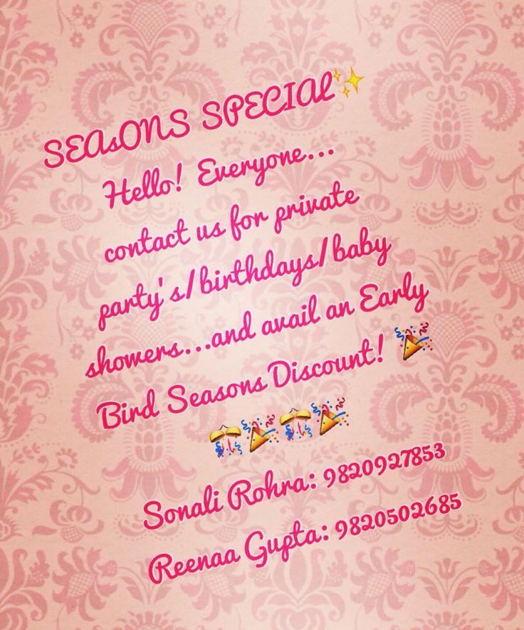 #eventsbay# Season's Special!