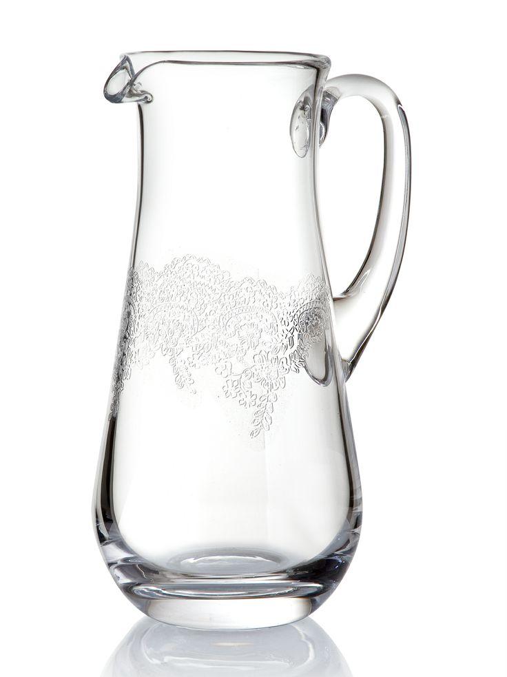 Grace Sürahi / Water Pitcher #bernardo #tabledesign #glass