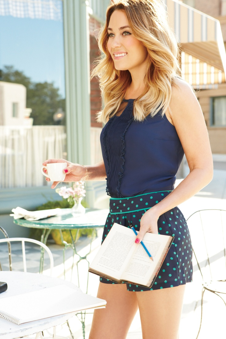 For a fresh look, swap a skirt for shorts. #LCLaurenConrad #Kohls