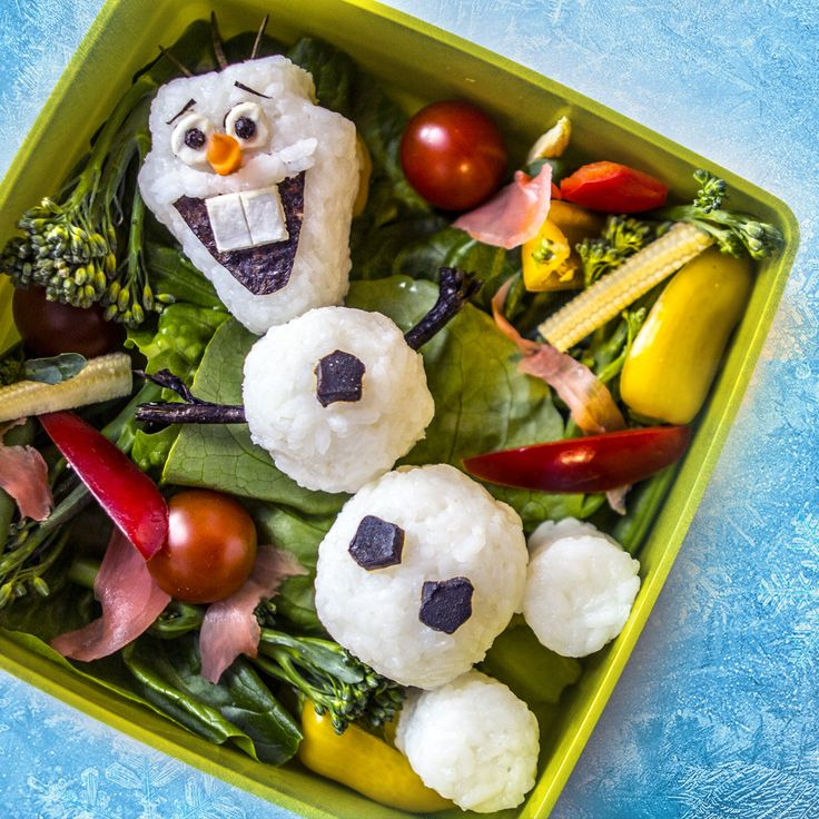 our attempt at bento olaf from frozen bento pinterest. Black Bedroom Furniture Sets. Home Design Ideas