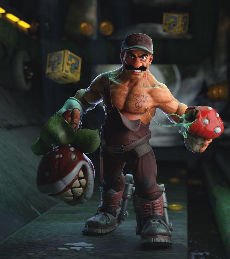 ArtStation - Incredible Mario , Sedat Açıklar