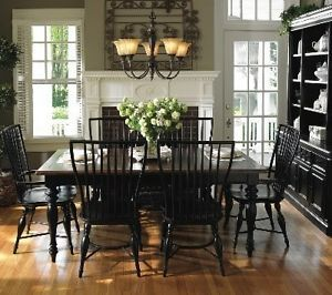 Universal furniture better homes gardens cottage view for Better homes and gardens dining room ideas
