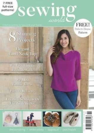 Sewing World №261 2017 скачать бесплатно