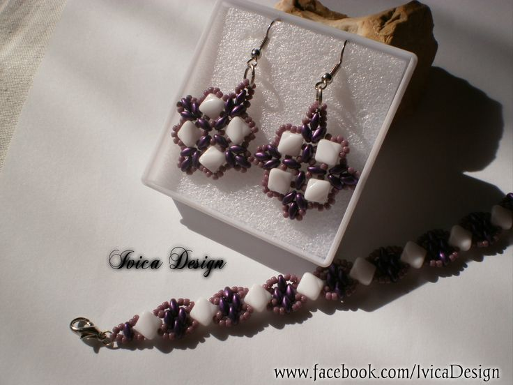 Silky bead, beadjewelry set <3 Follow me on my Facebook page:https://www.facebook.com/IvicaDesign/ Or buy my jewelrsy on:https://porteka.com/hu/ivica#