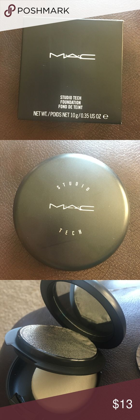 Mac foundation NC45 Studio Tech NC45 MAC foundation Brand new never opened MAC Cosmetics Makeup Foundation