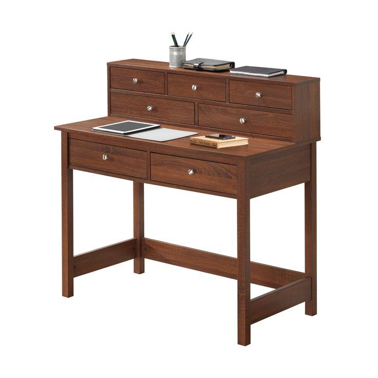 Techni Mobili Elegant Desk/Hall Table with Storage | from hayneedle.com