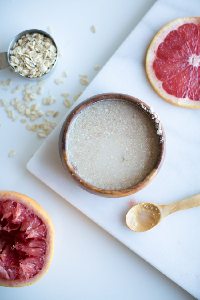 Detox DIY Face Mask + Body Scrub
