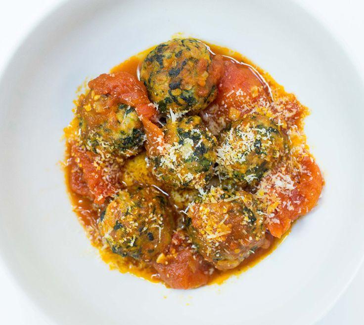 Turkey-Spinach Meatballs | Recipe | Italian, Spinach and ...