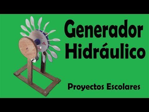 Proyectos Escolares | Mini Generador Eólico Casero (muy fácil de hacer) - YouTube