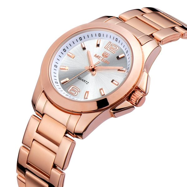 Dameur - MEGIR Rose Dial Woman