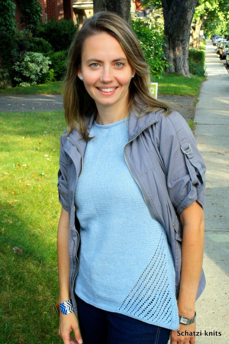 Driftwood Tee, blogged about @ Schatzi's knits
