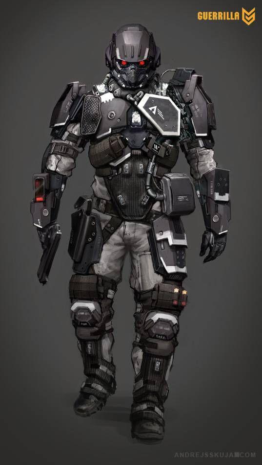 Helghast Soldier