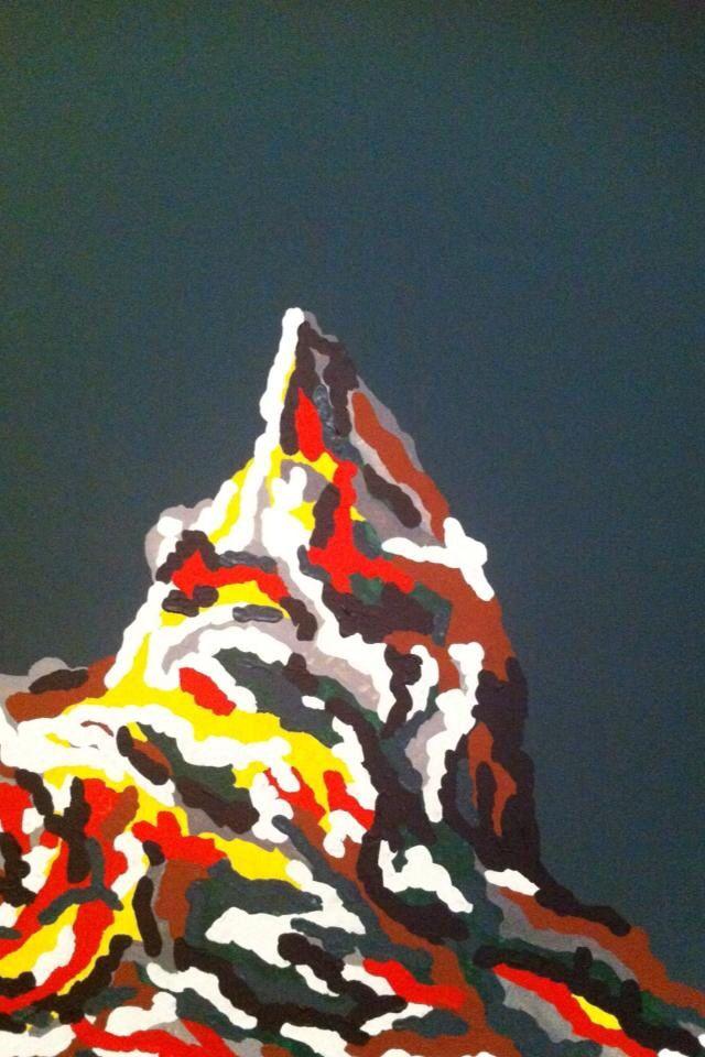 Olybios, acrylic on canvas