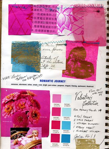 Christine Adolph: Sketchbooks Moodboard, Design Inspiration, Color Shock, Fashion Promotion Sketchbooks, Inspiration Boards, Beautiful Sketchbooks, Sketchbooks Notebooks, Adolphe Sketchbooks, Inspiration Collage