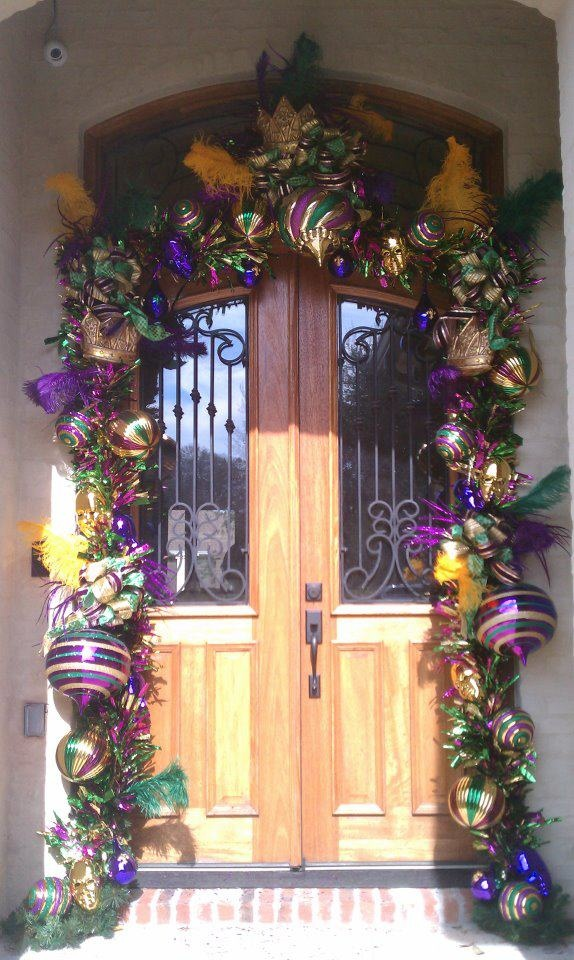Mardi Gras Door Decoration Ideas Elitflat
