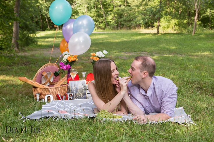 Jessica Wiedersich and Robert Picciano are getting married at the Ramsey Golf and Country Club in Ramsey, NJ on Sunday, September 11, 2016. We did a picnic themed session at Ramapo Reservation! David Eric Phtography