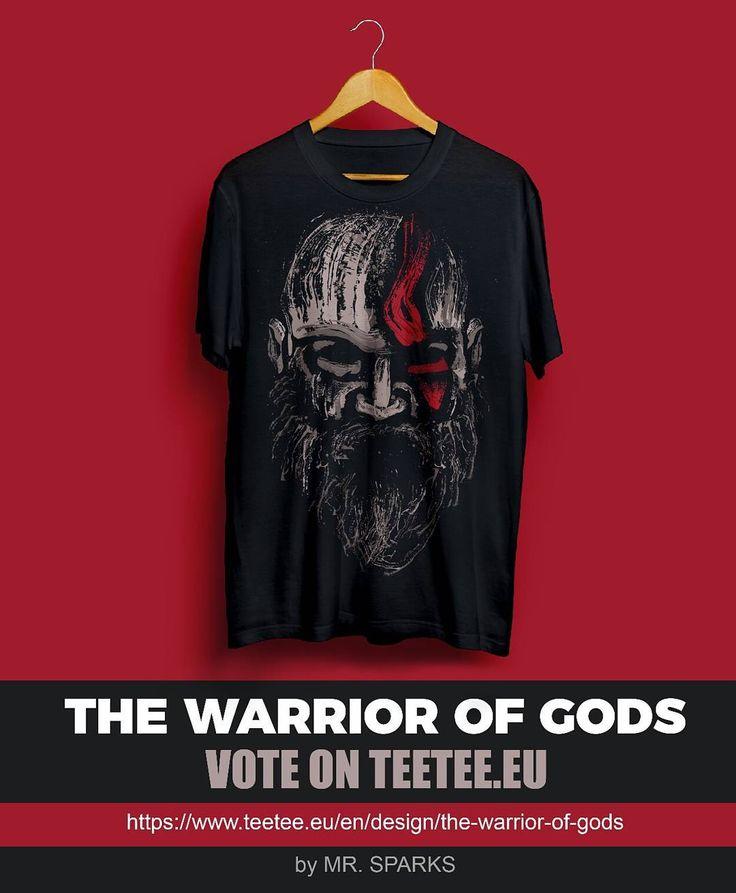 https://www.teetee.eu/en/design/the-warrior-of-gods  The Warrior of Gods now on Teetee (Vote section)  I hope you like it!! #tshirt #godofwar #sony #ps4 #playstation #teetee #splatter #beard #artoftheday #ink #tshirt #tee #offer #tees #sale #game #gamer #splatter #digitalart #art #instaoftheday #ff