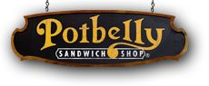 Potbelly Sandwich Shop donates gift cards to groups that are located in communities in which they operate. Apply online at least 45 days in advance of your event: http://www.potbelly.com/Company/DonationRequest.aspx