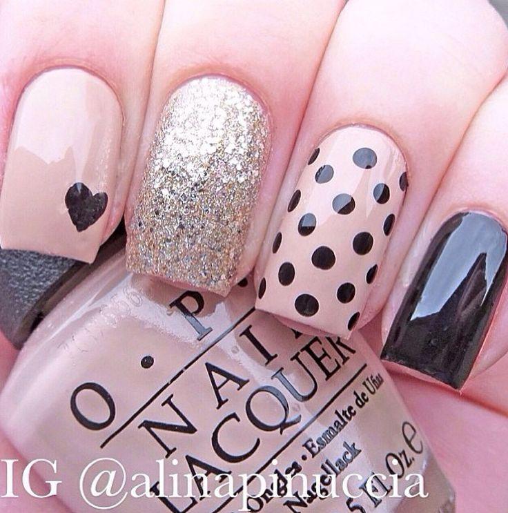 Love polka dots #glitter #points