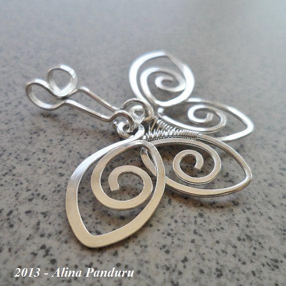 12 besten Hammered wire jewelry Bilder auf Pinterest   Drahtschmuck ...