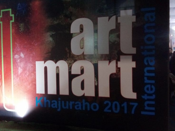 Romanian artists at  the  art exhibition Art Mart 2017 in India